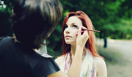 Maquillage événementiel près de Wavre, Namur, Bruxelles